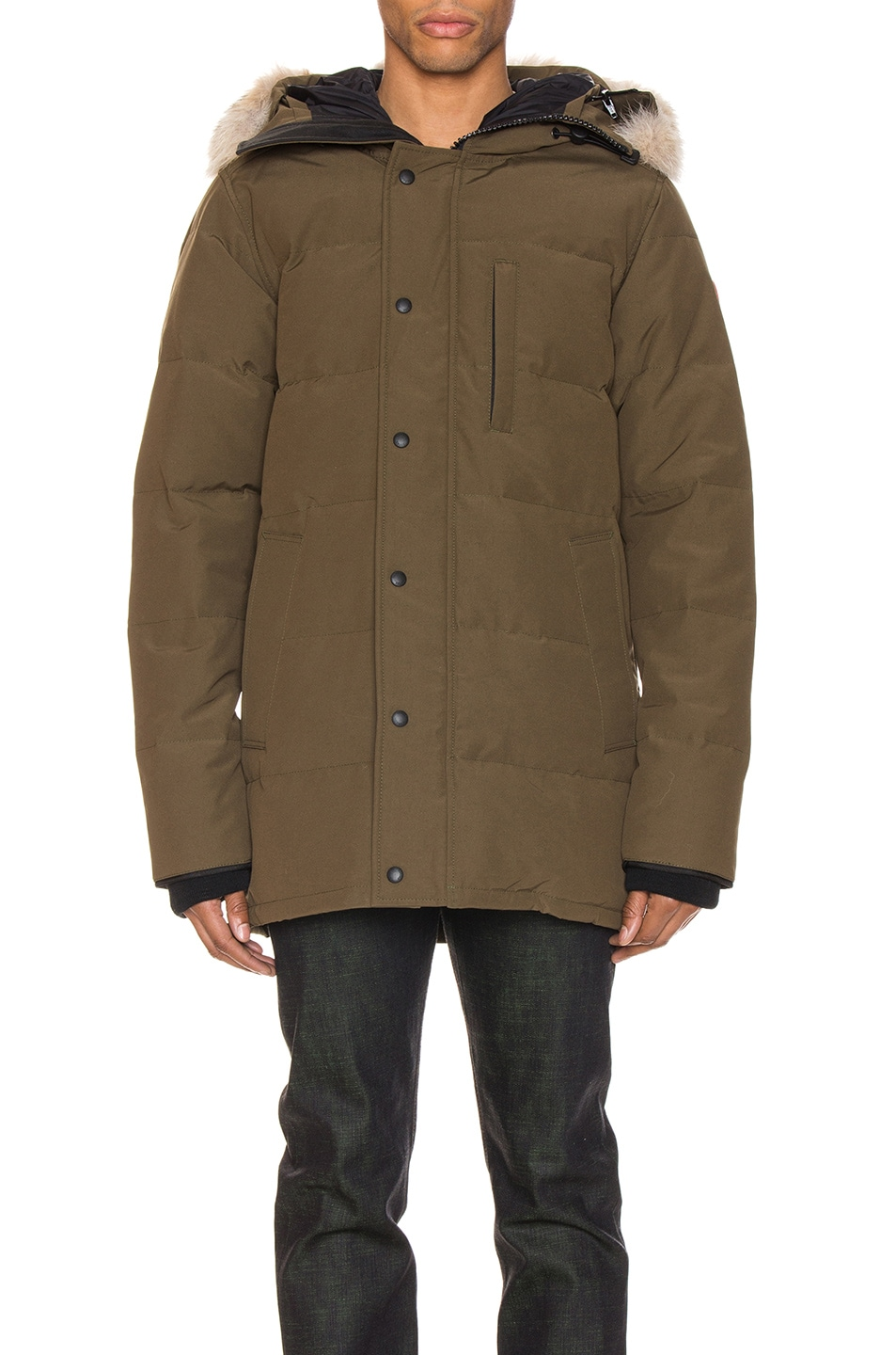 Image 2 of Canada Goose Carson Parka in Military Green