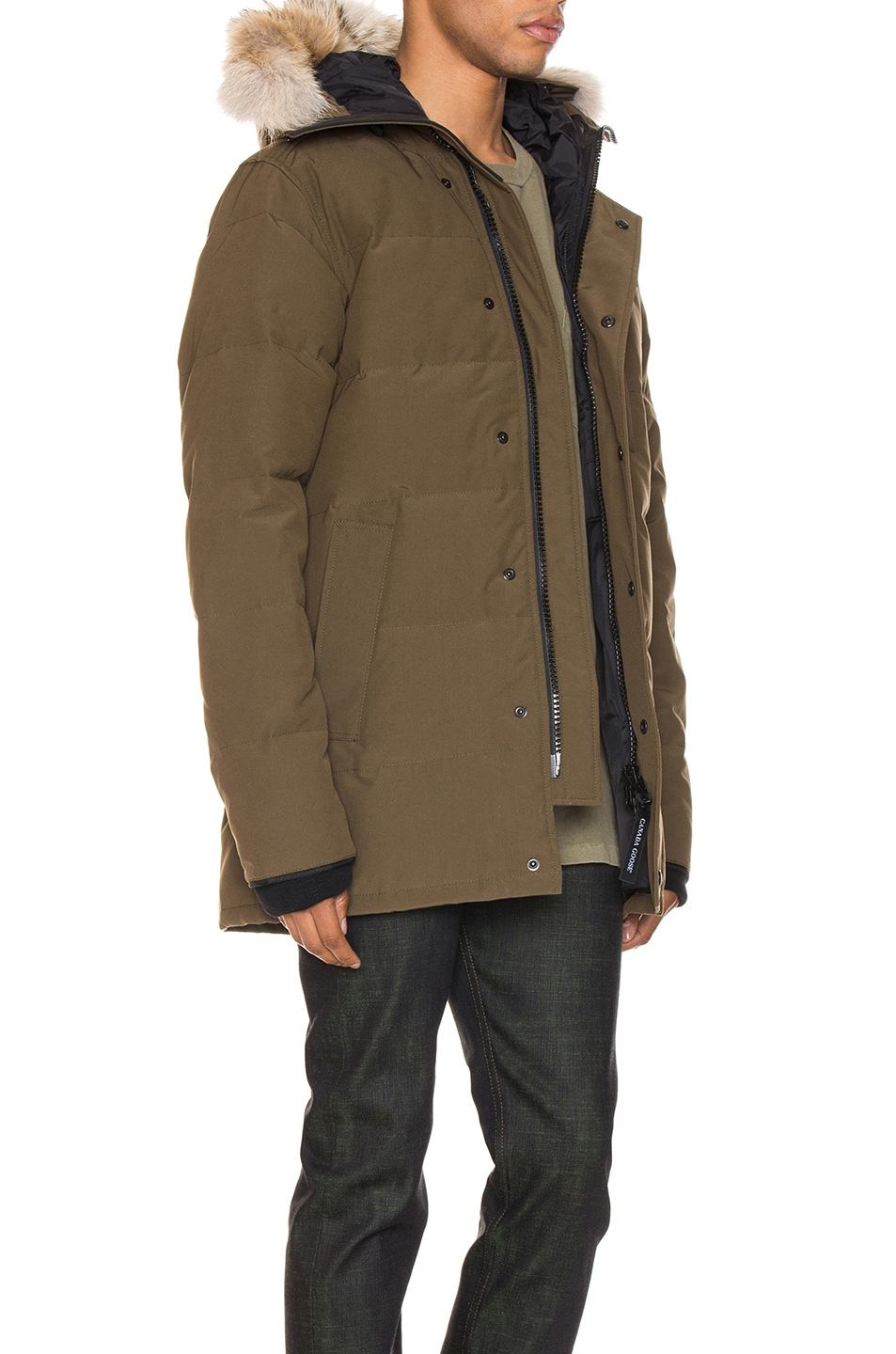 Image 3 of Canada Goose Carson Parka in Military Green