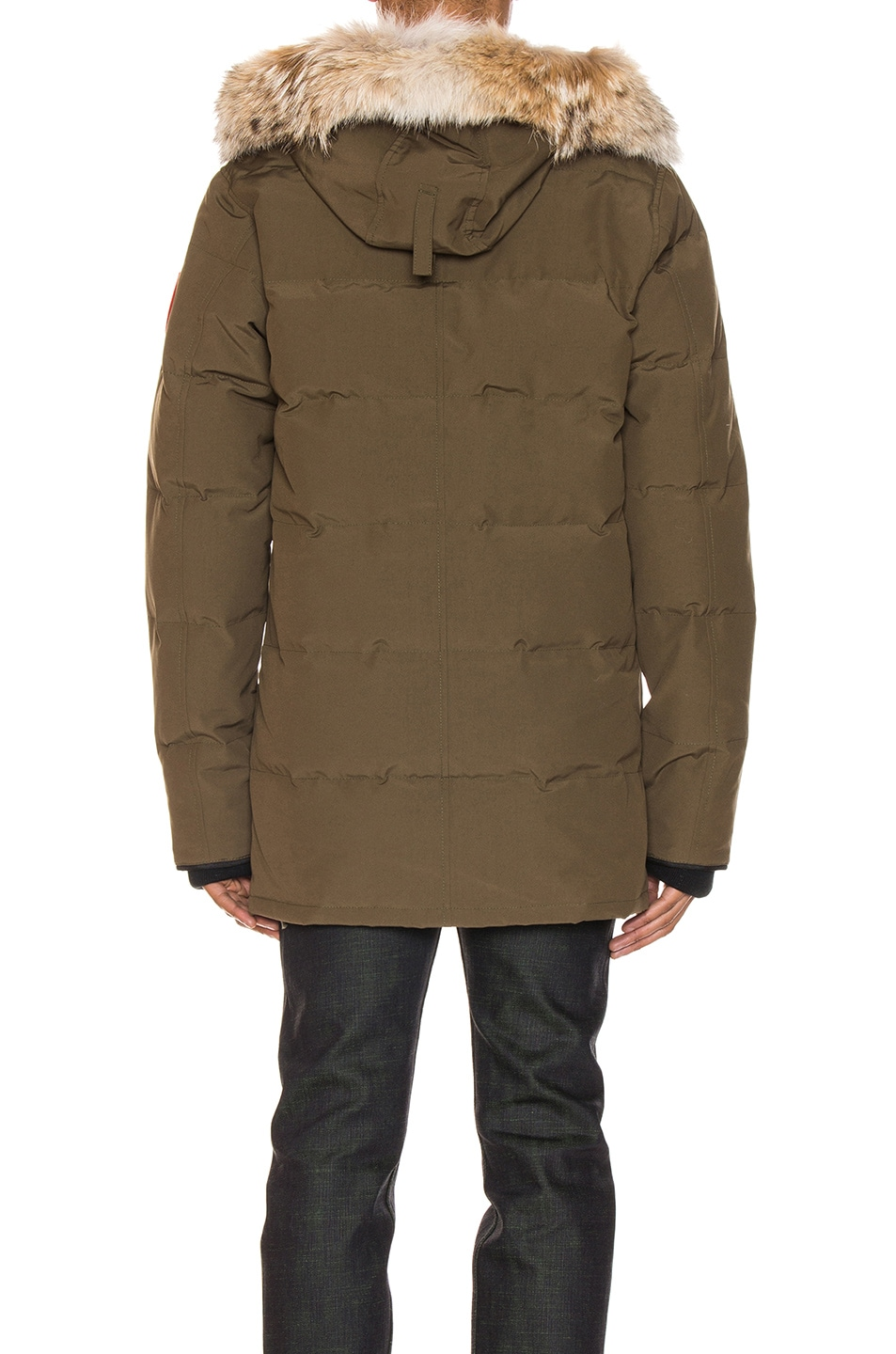 Image 5 of Canada Goose Carson Parka in Military Green