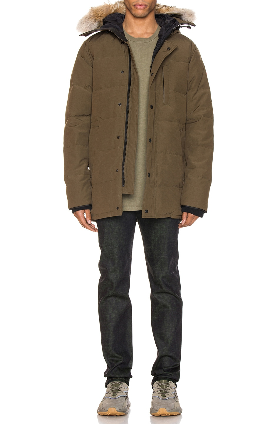 Image 6 of Canada Goose Carson Parka in Military Green