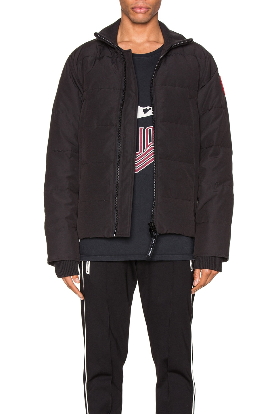 Image 1 of Canada Goose Woolford Jacket in Black
