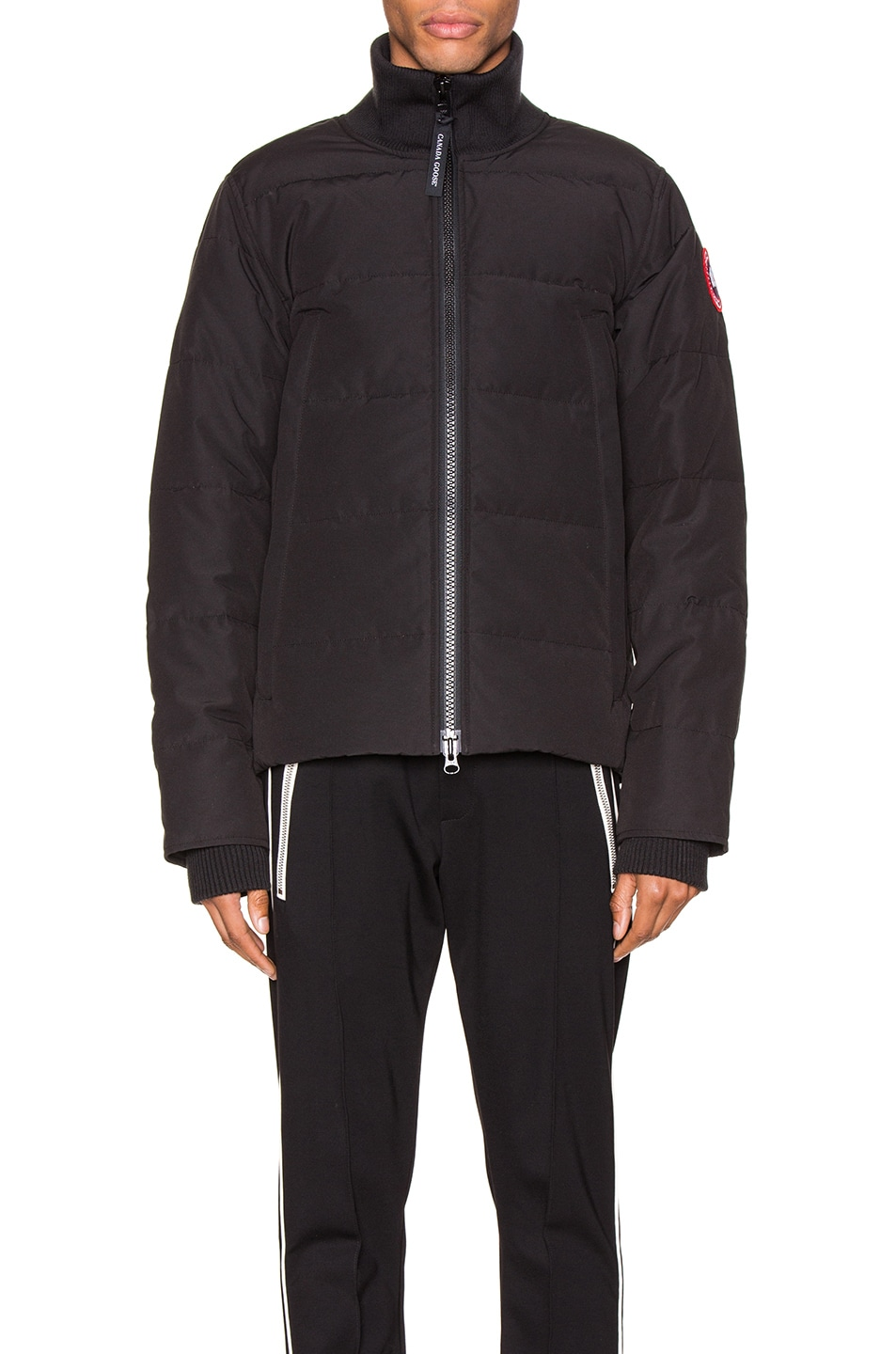 Image 2 of Canada Goose Woolford Jacket in Black