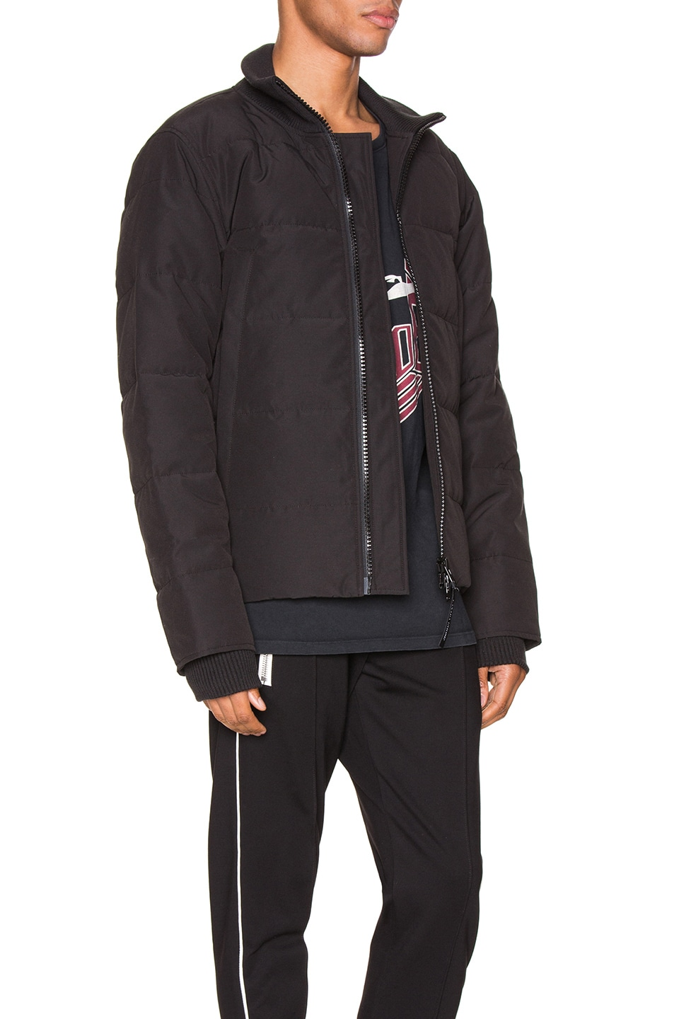 Image 3 of Canada Goose Woolford Jacket in Black