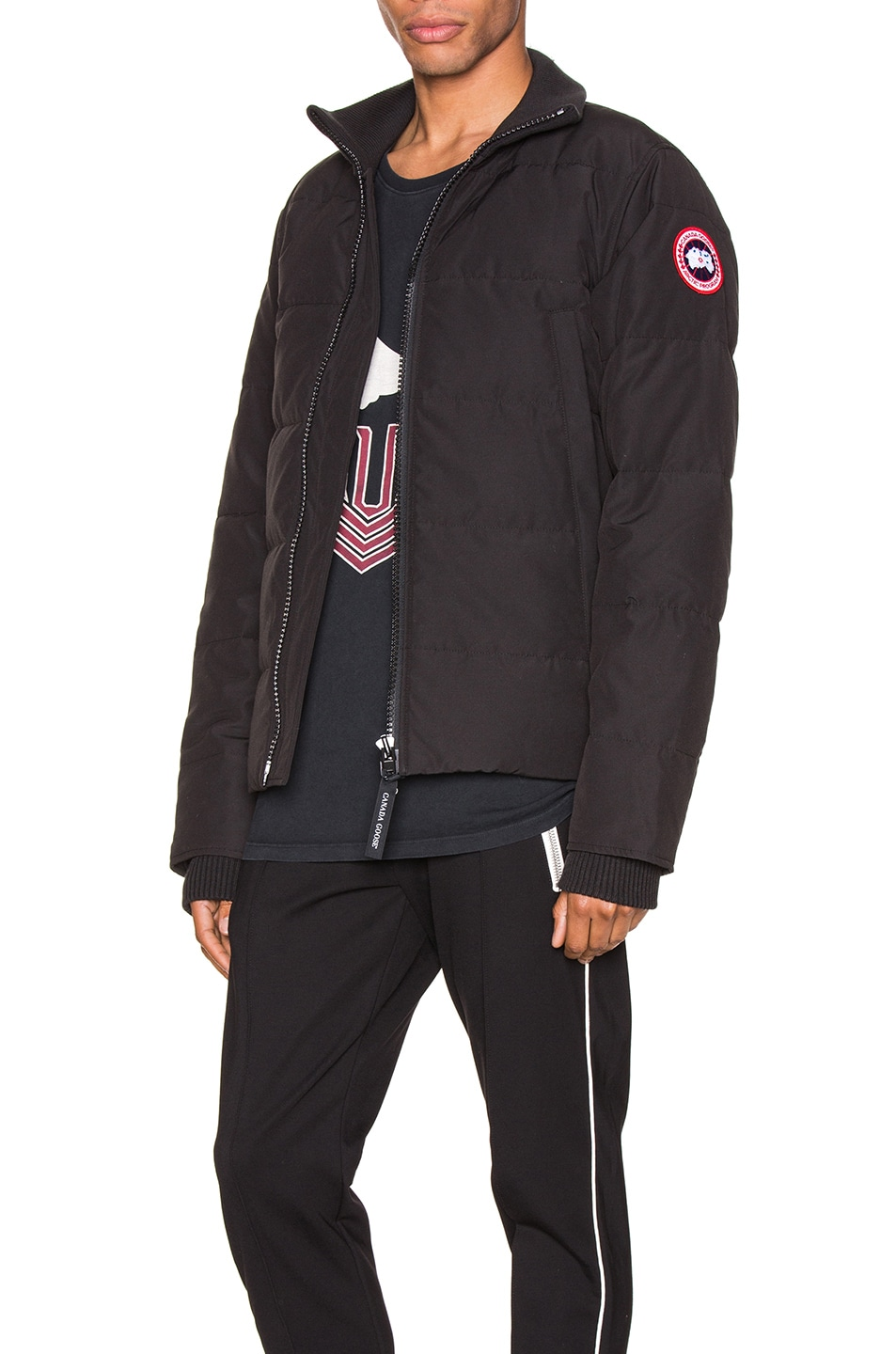 Image 4 of Canada Goose Woolford Jacket in Black