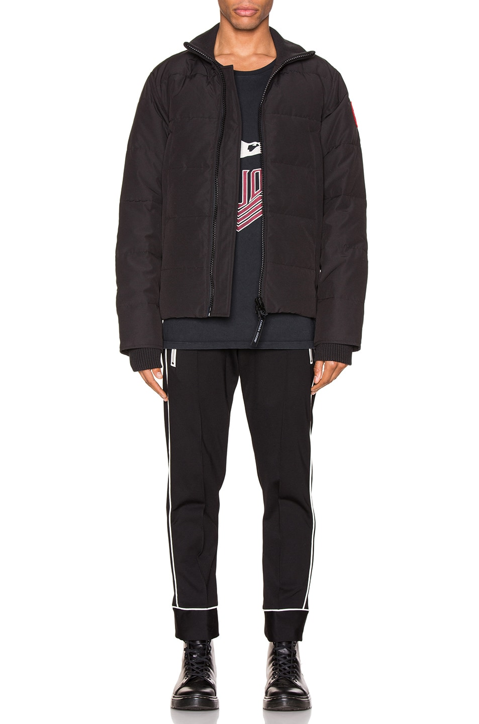 Image 6 of Canada Goose Woolford Jacket in Black