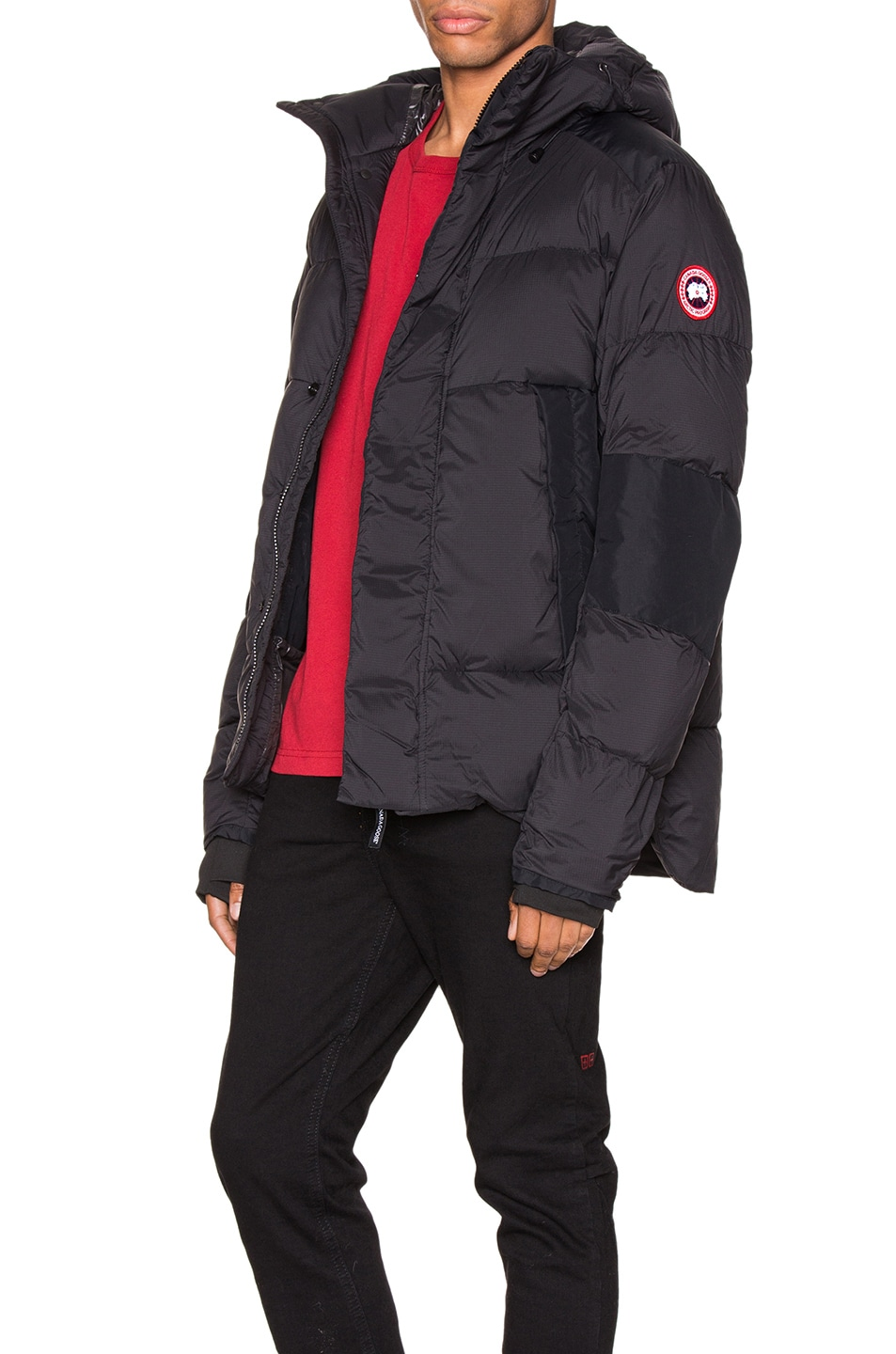 Image 4 of Canada Goose Armstrong Hoody in Black