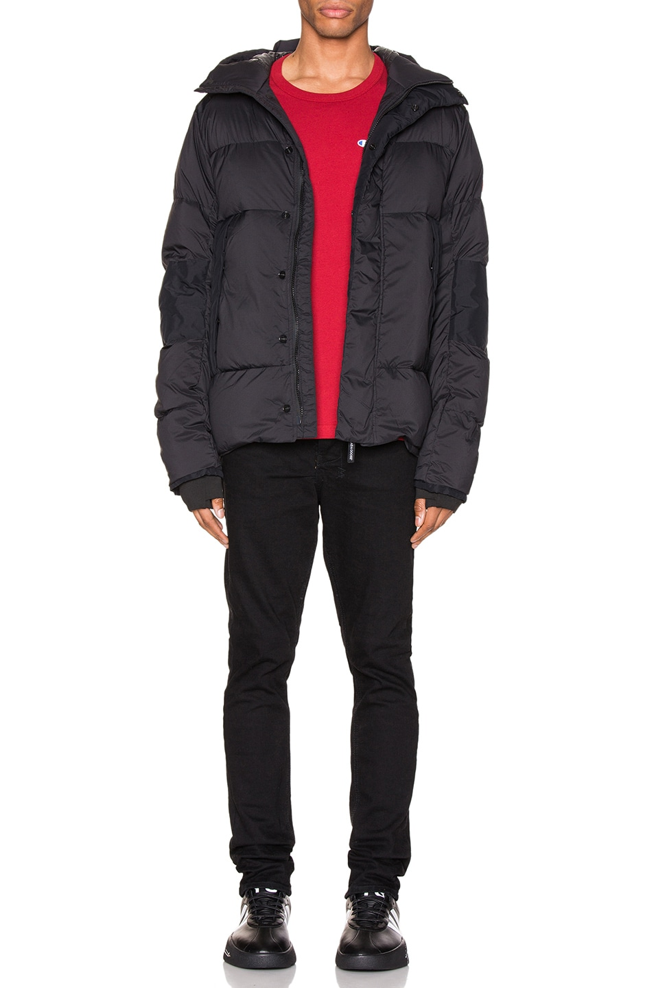 Image 7 of Canada Goose Armstrong Hoody in Black