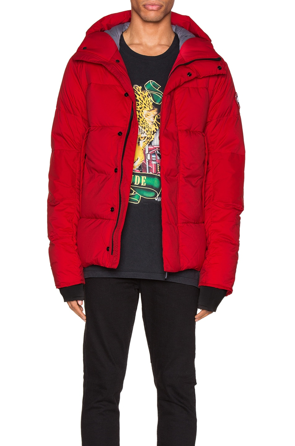 Image 1 of Canada Goose Armstrong Hoody in Red
