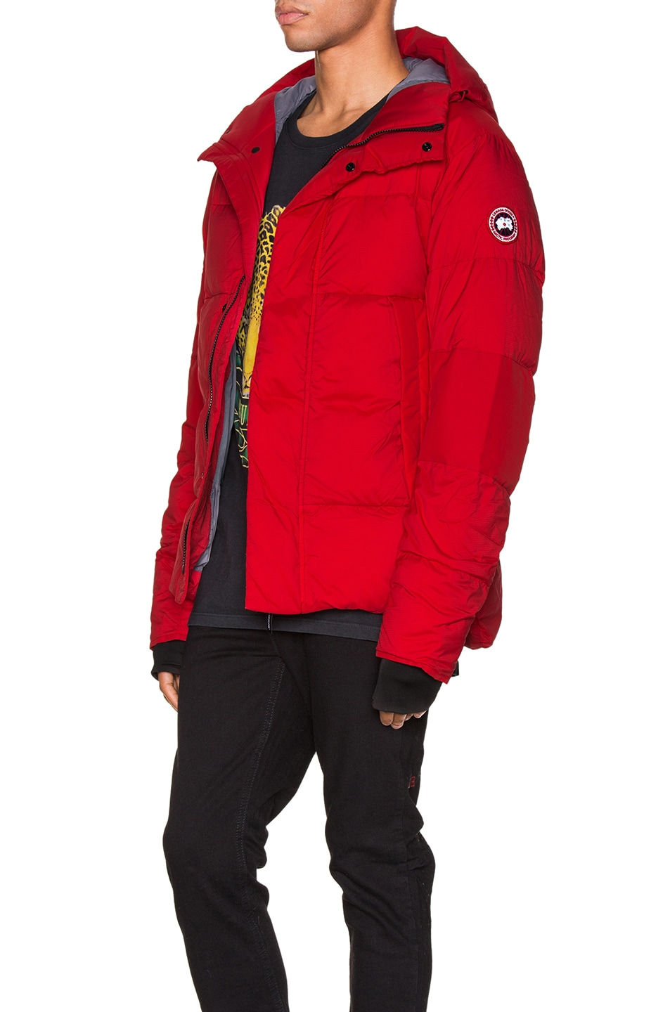 Image 4 of Canada Goose Armstrong Hoody in Red