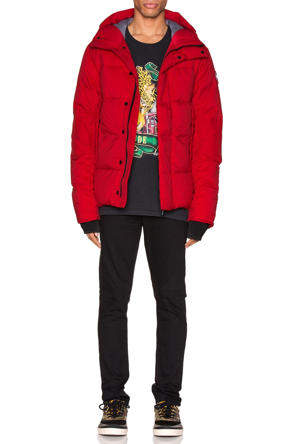 Image 6 of Canada Goose Armstrong Hoody in Red