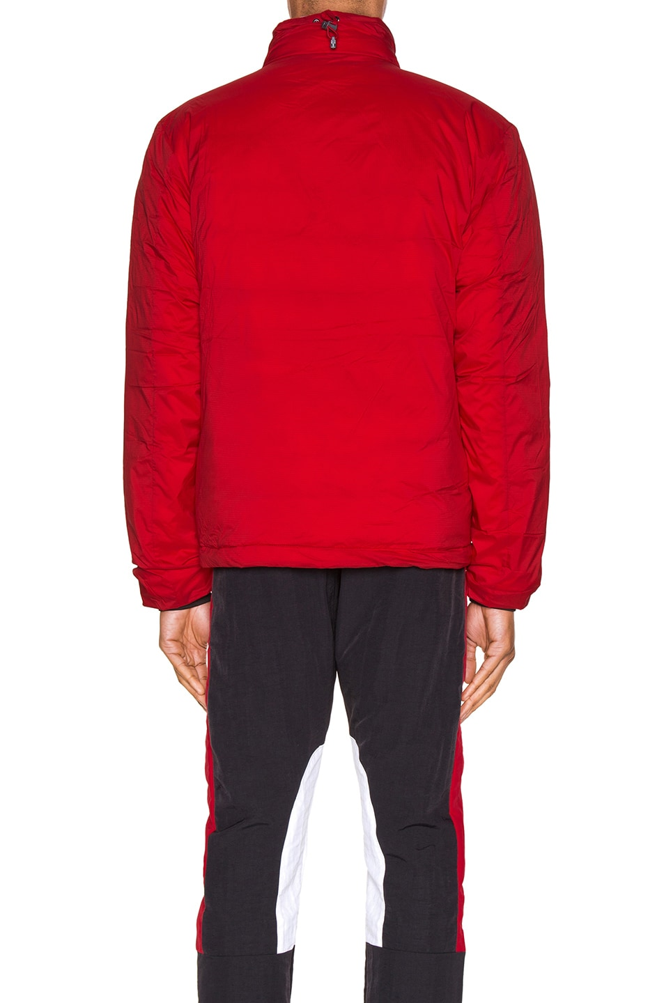 Image 5 of Canada Goose Lodge Jacket in Red