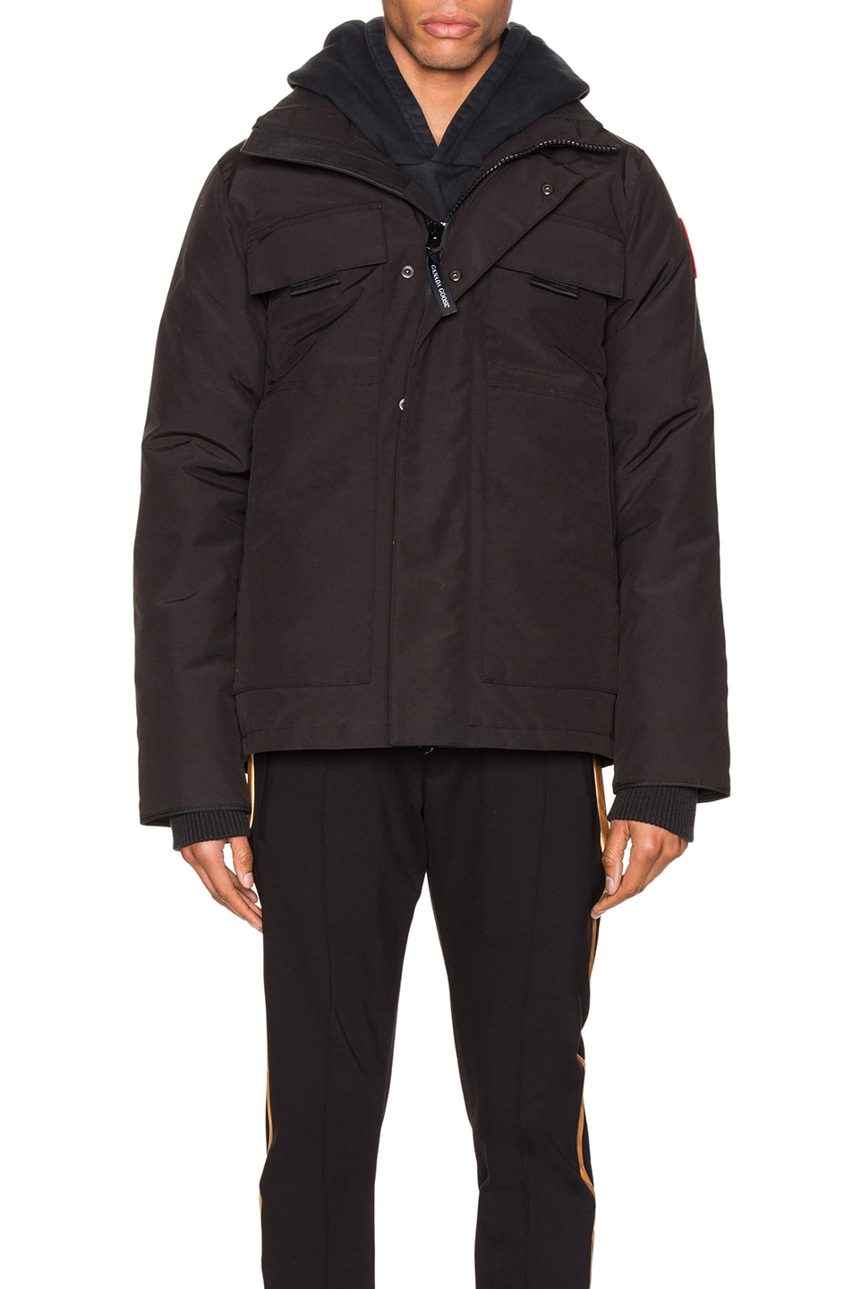 Image 2 of Canada Goose Forester Jacket in Black