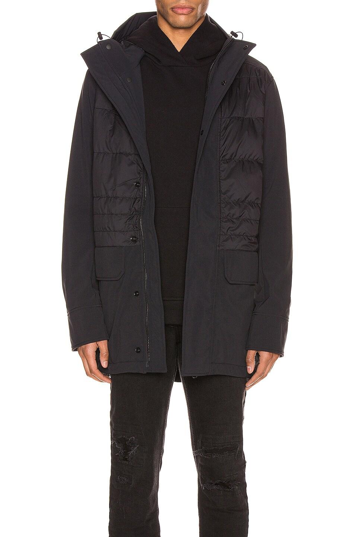 Image 1 of Canada Goose Breton Coat in Black
