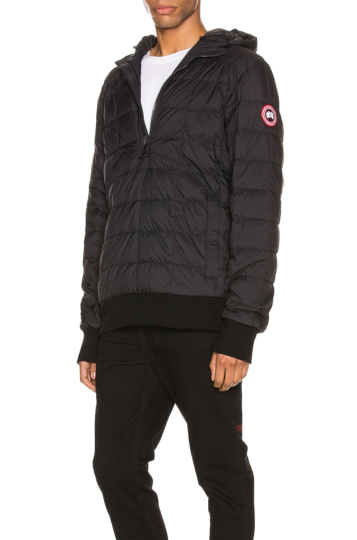 Image 4 of Canada Goose Wilmington Jacket in Black