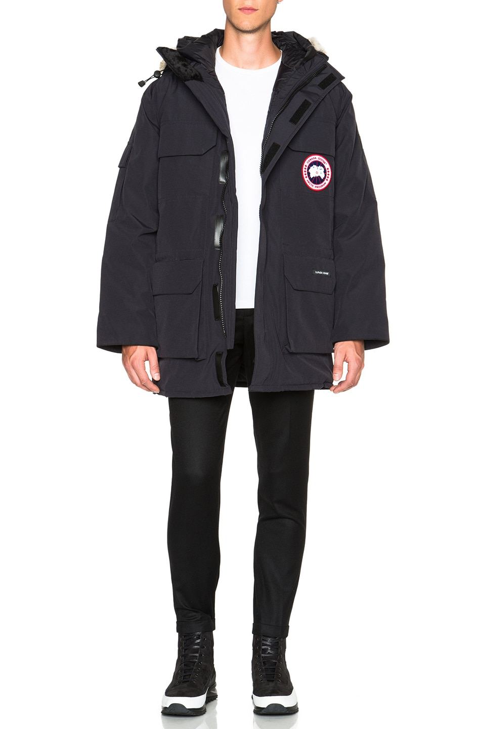 Image 1 of Canada Goose Expedition Parka in Navy