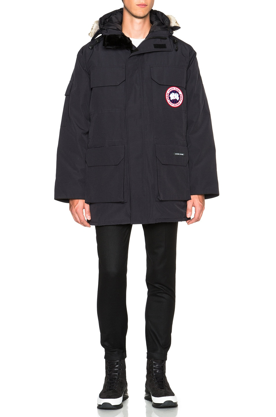 Image 2 of Canada Goose Expedition Parka in Navy