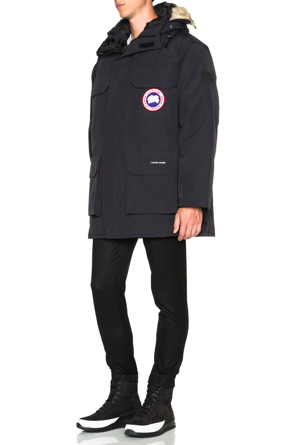 Image 3 of Canada Goose Expedition Parka in Navy