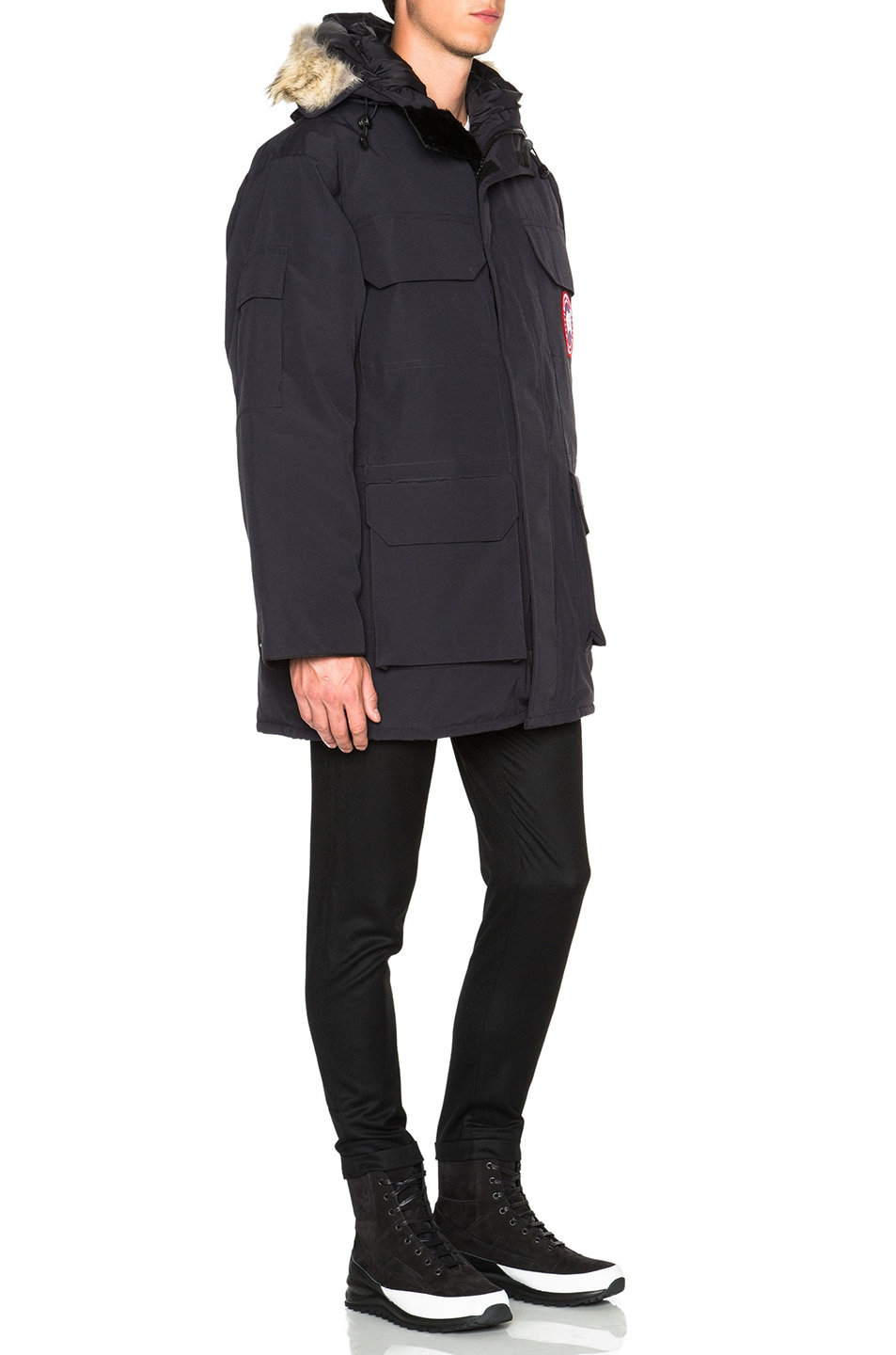 Image 4 of Canada Goose Expedition Parka in Navy