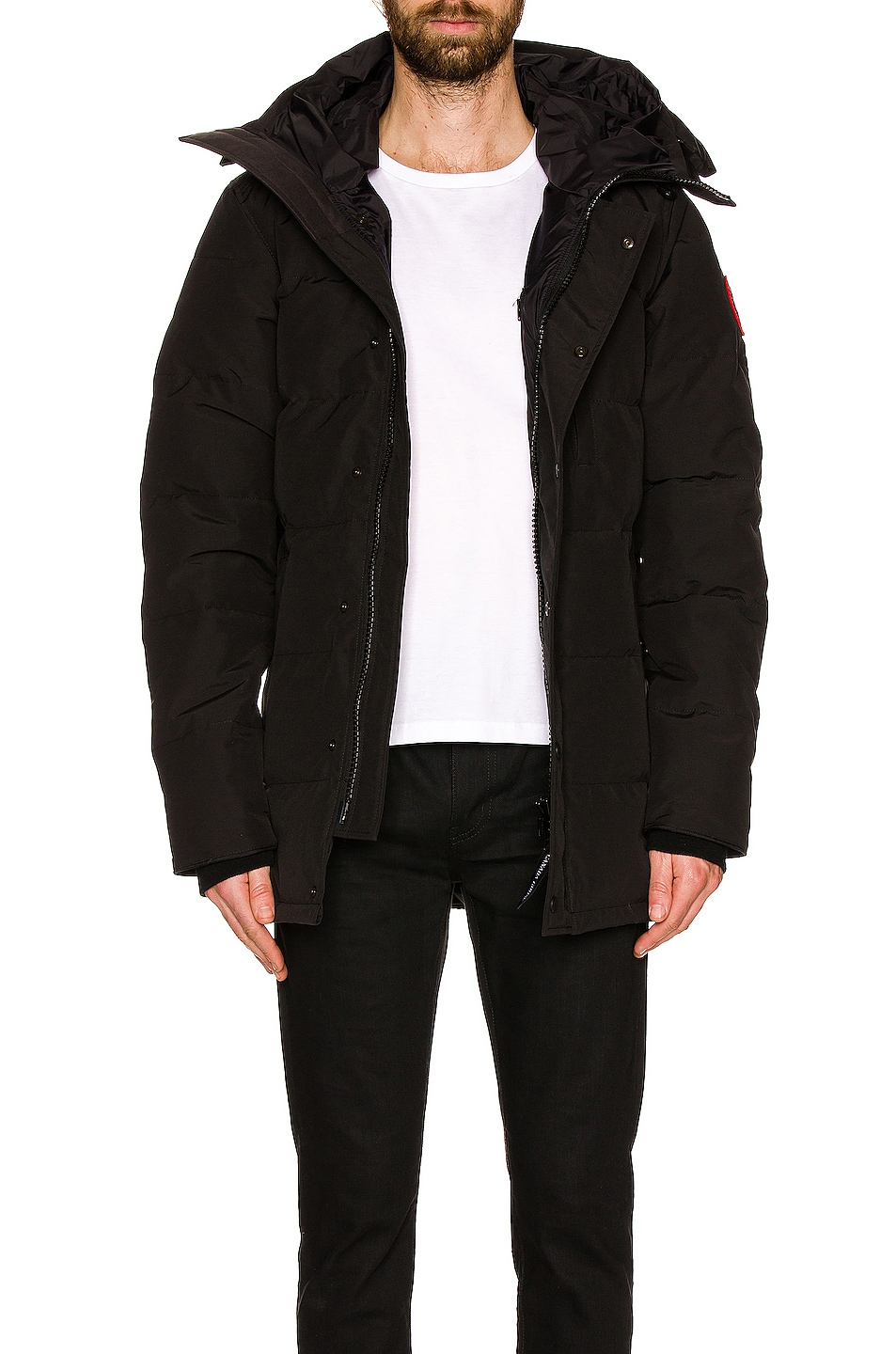 Image 5 of Canada Goose Carson Parka in Black