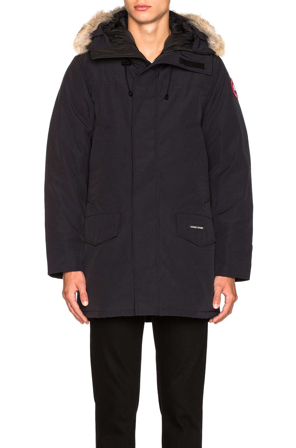 Image 2 of Canada Goose Langford Parka in Navy