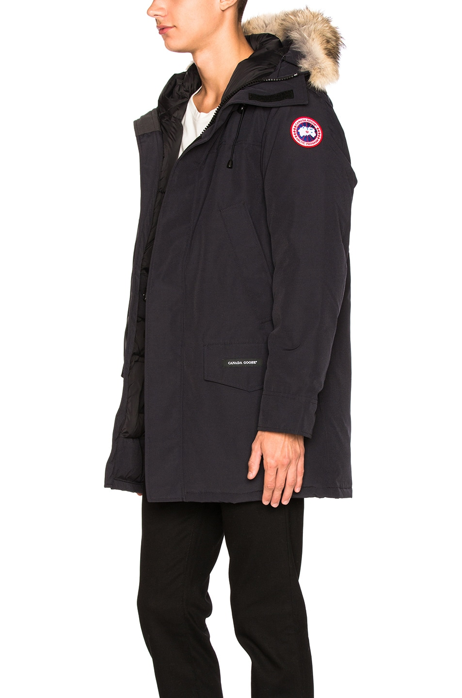 Image 3 of Canada Goose Langford Parka in Navy