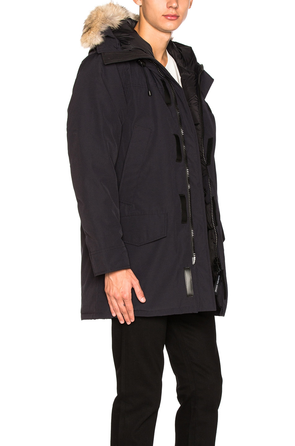Image 4 of Canada Goose Langford Parka in Navy