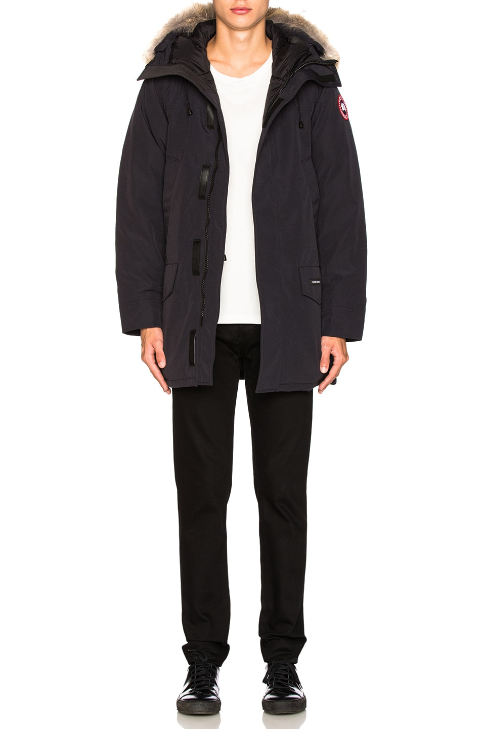 Image 7 of Canada Goose Langford Parka in Navy