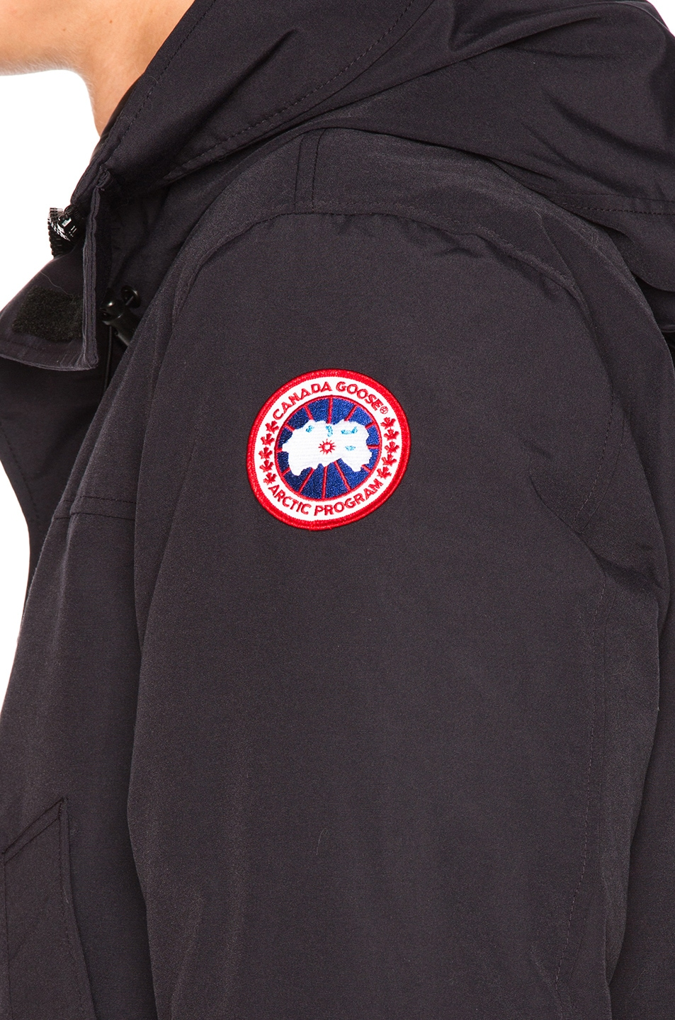 Image 8 of Canada Goose Langford Parka in Navy