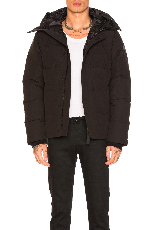 Image 1 of Canada Goose Black Label MacMillian Parka in Black