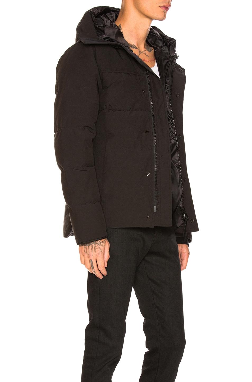 Image 3 of Canada Goose Black Label MacMillian Parka in Black