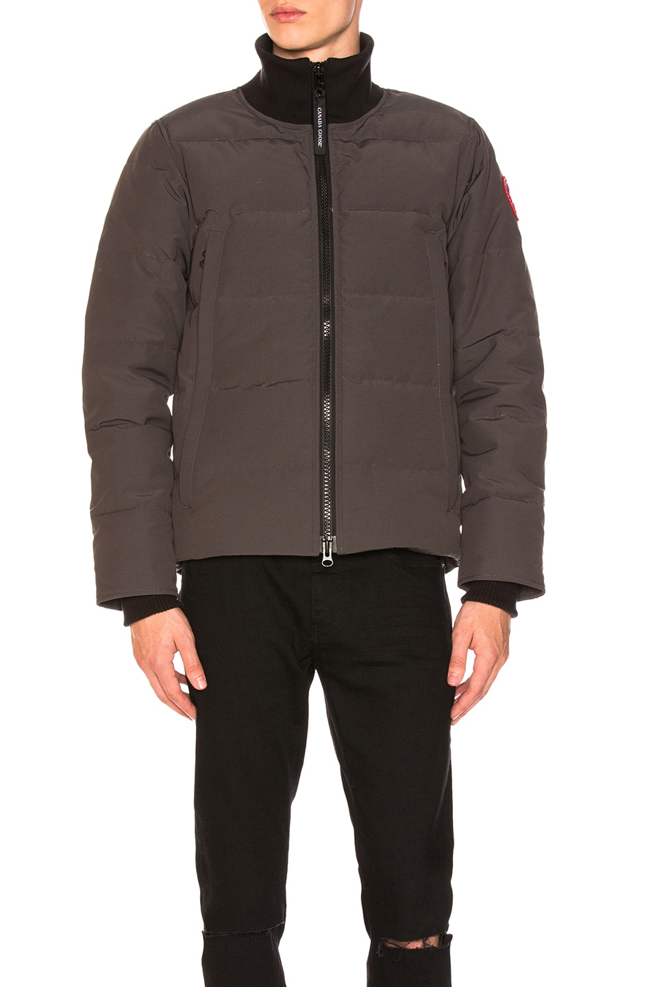 4b767b8e8e8 Image 1 of Canada Goose Woolford Jacket in Graphite