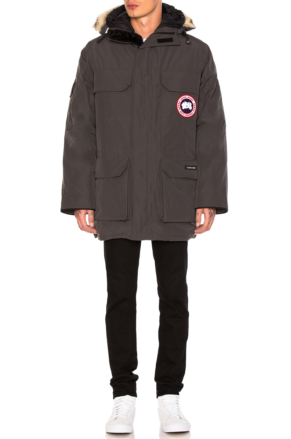 Image 2 of Canada Goose Expedition Parka in Graphite