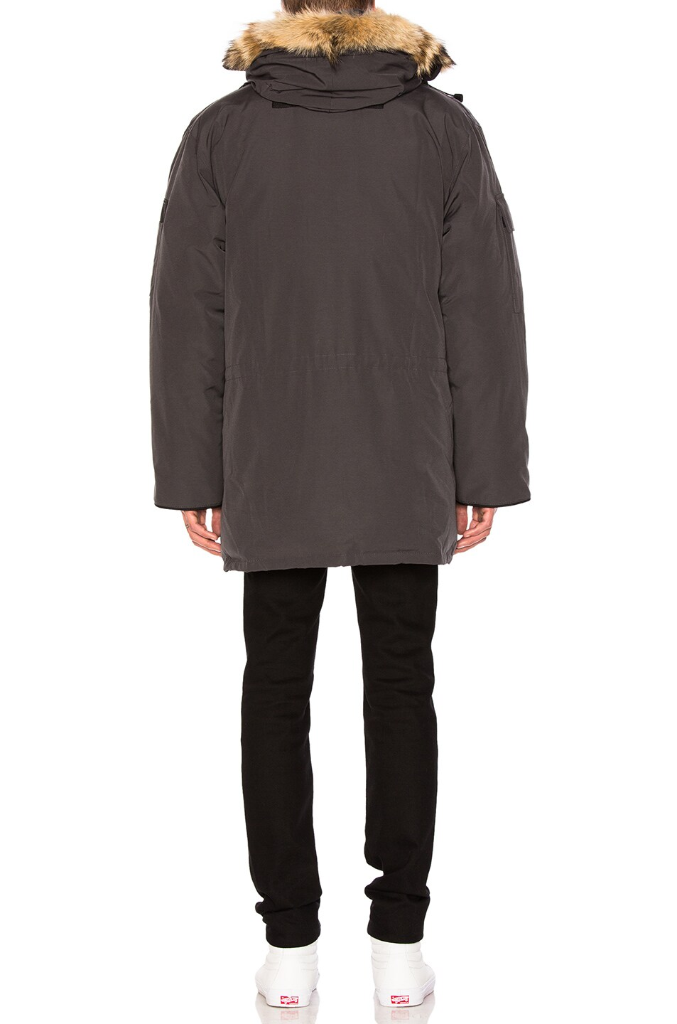 Image 4 of Canada Goose Expedition Parka in Graphite