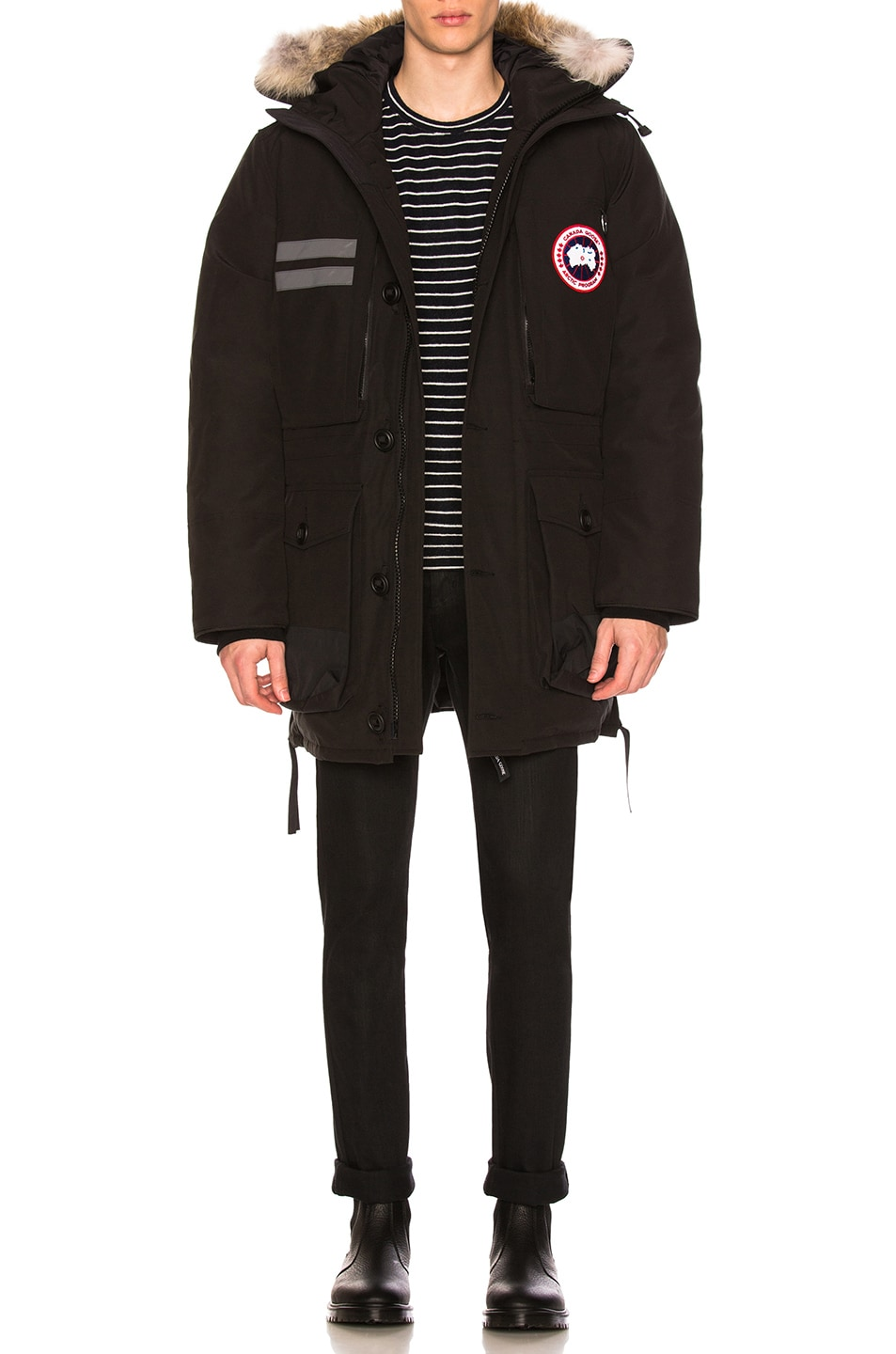 Image 1 of Canada Goose Maccullouch Parka in Black