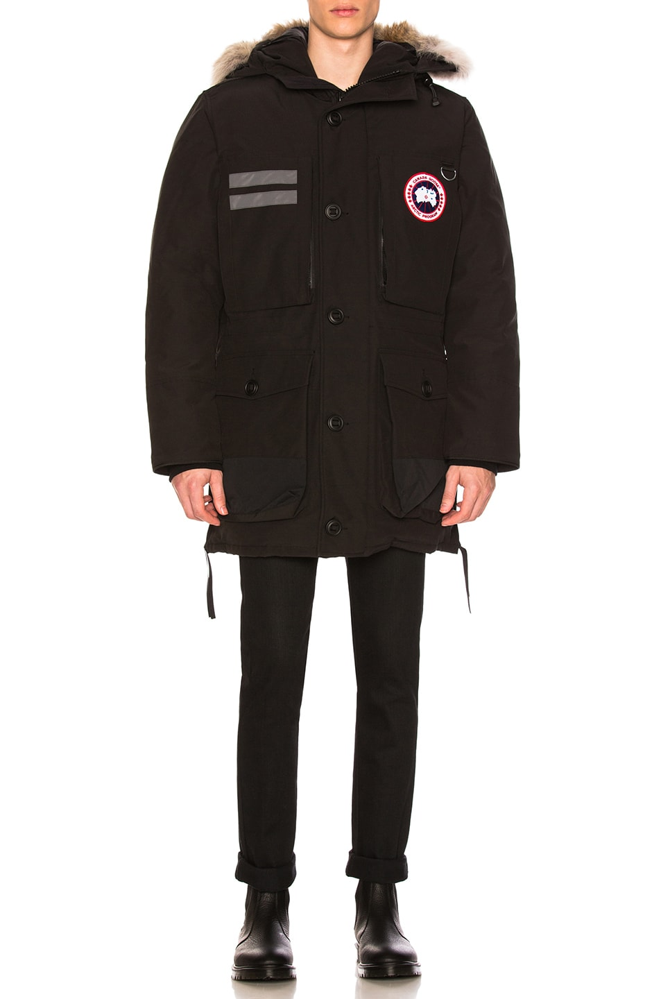 Image 2 of Canada Goose Maccullouch Parka in Black