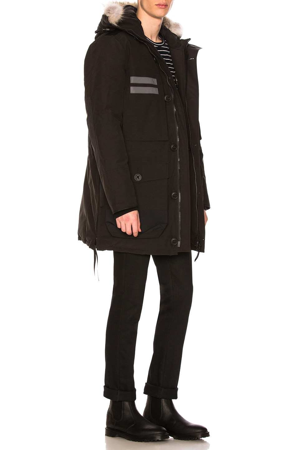 Image 3 of Canada Goose Maccullouch Parka in Black