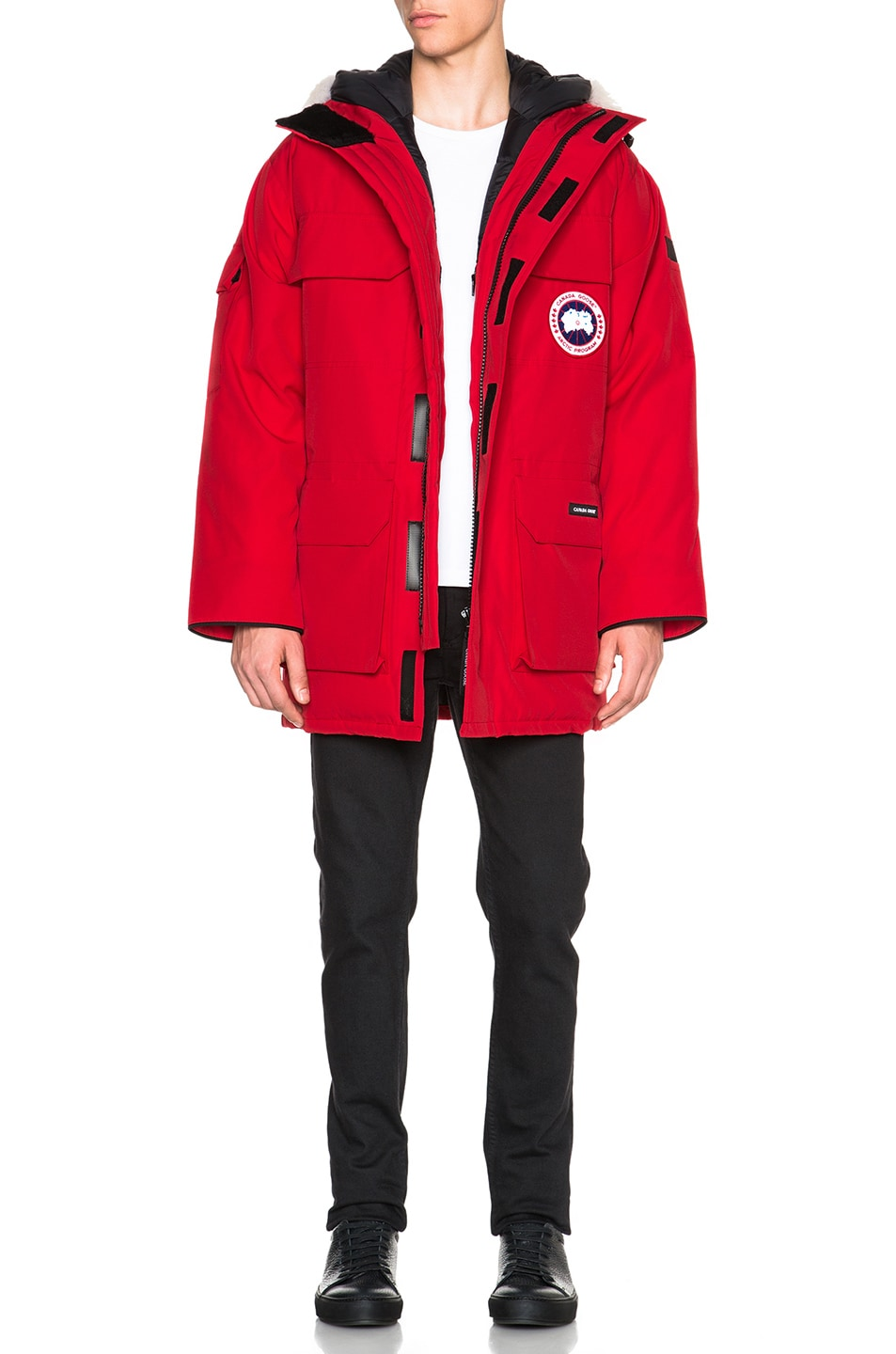 Image 1 of Canada Goose Expedition Parka in Red