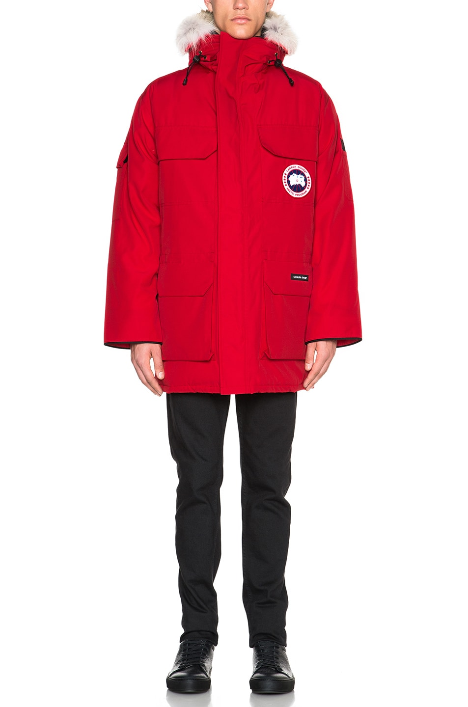 Image 2 of Canada Goose Expedition Parka in Red