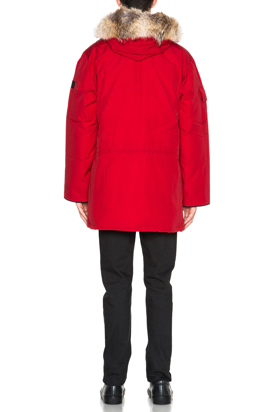 Image 5 of Canada Goose Expedition Parka in Red