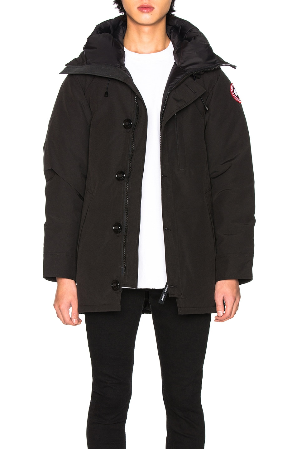 Image 1 of Canada Goose Chateau Non Fur Parka in Black