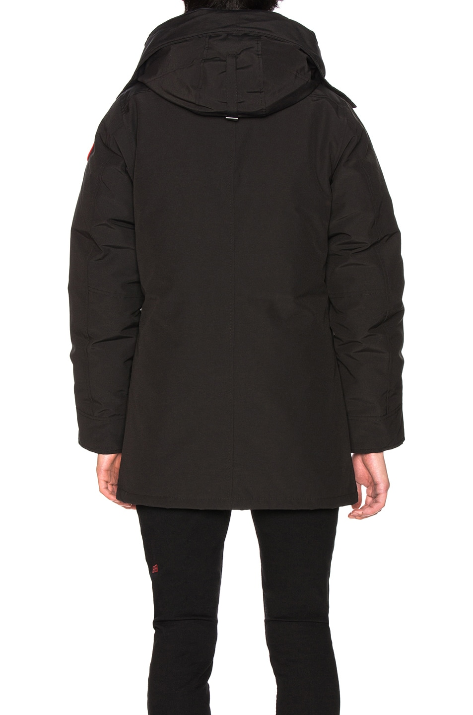 Image 5 of Canada Goose Chateau Non Fur Parka in Black