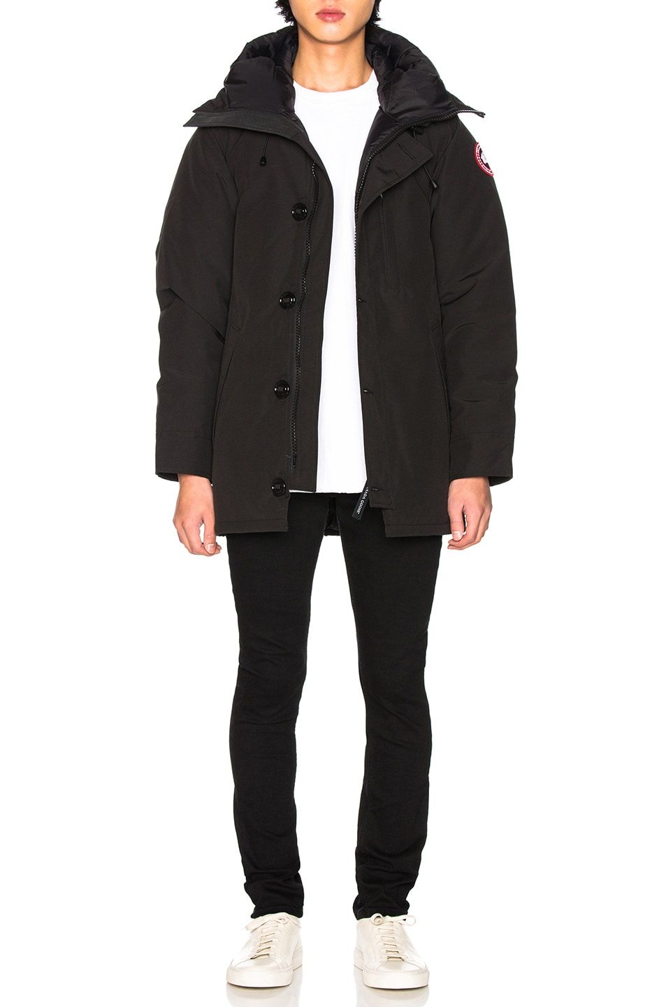 Image 6 of Canada Goose Chateau Non Fur Parka in Black