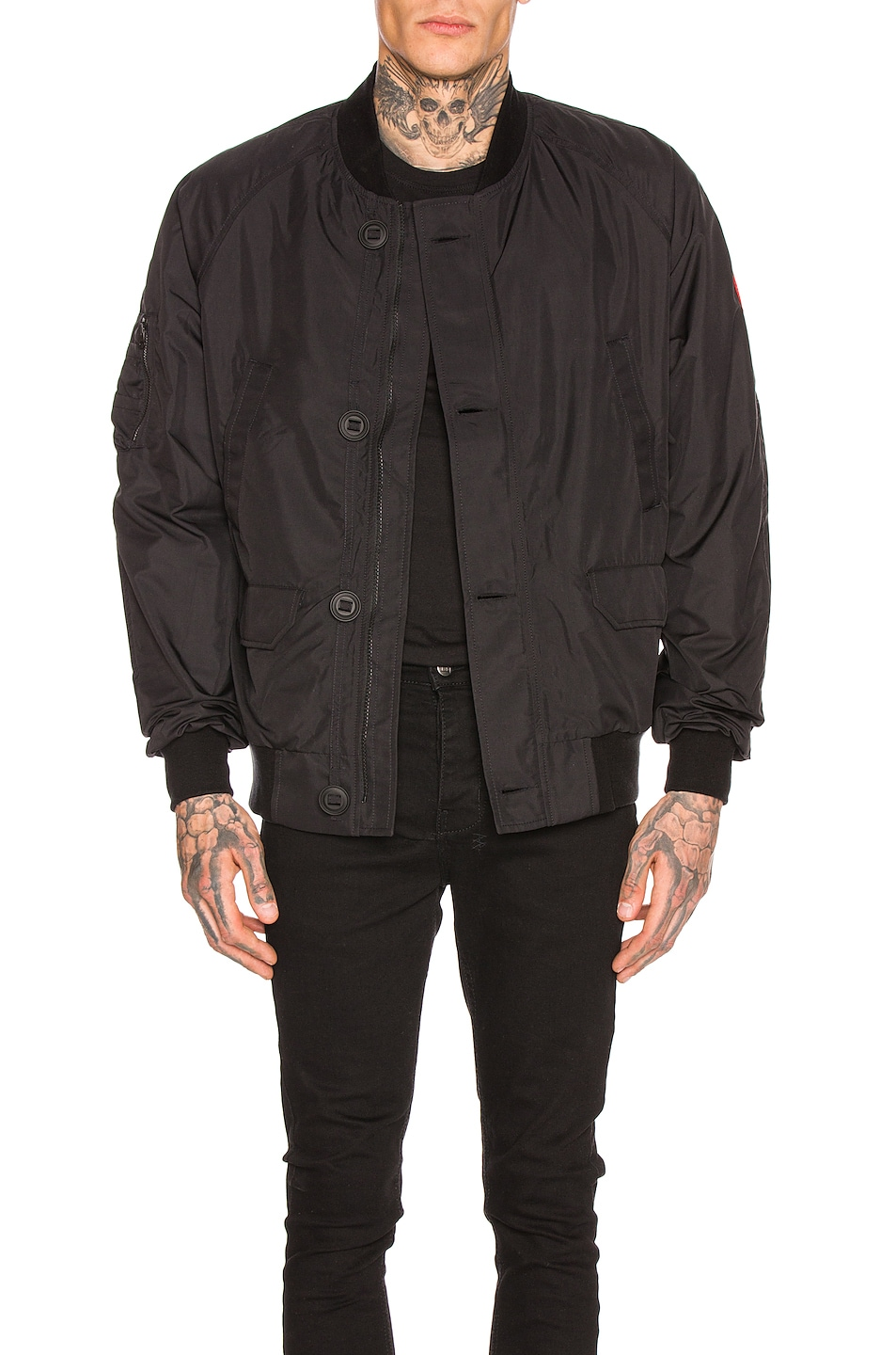 Image 1 of Canada Goose Faber Bomber in Black
