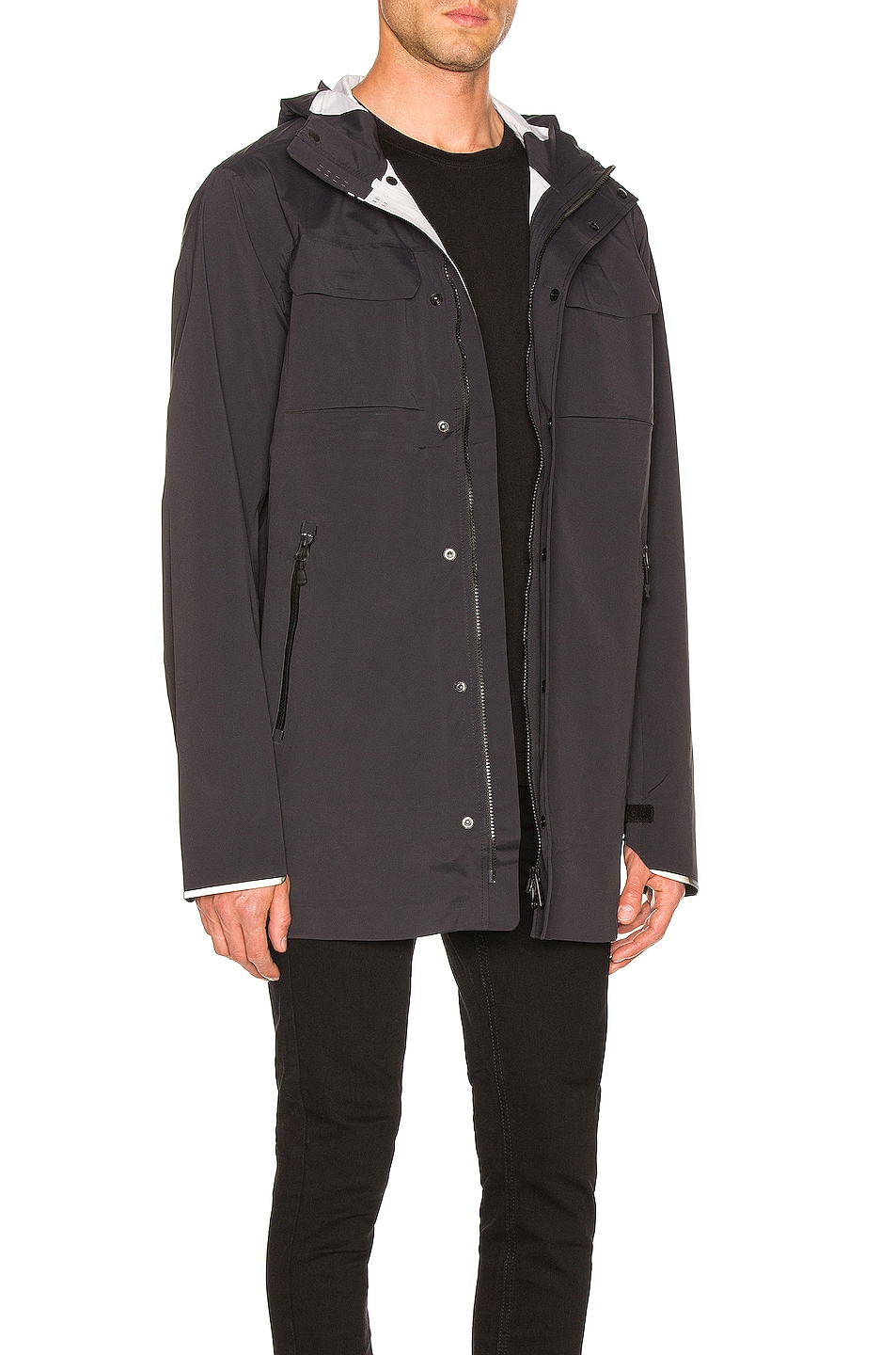 Image 3 of Canada Goose Wascana Jacket in Black