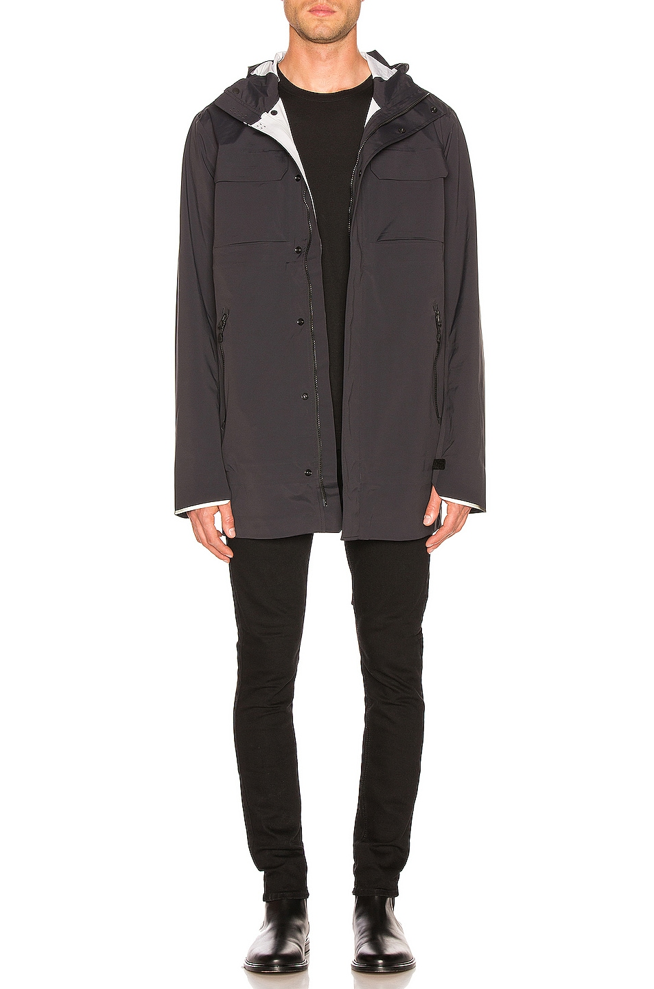 Image 5 of Canada Goose Wascana Jacket in Black