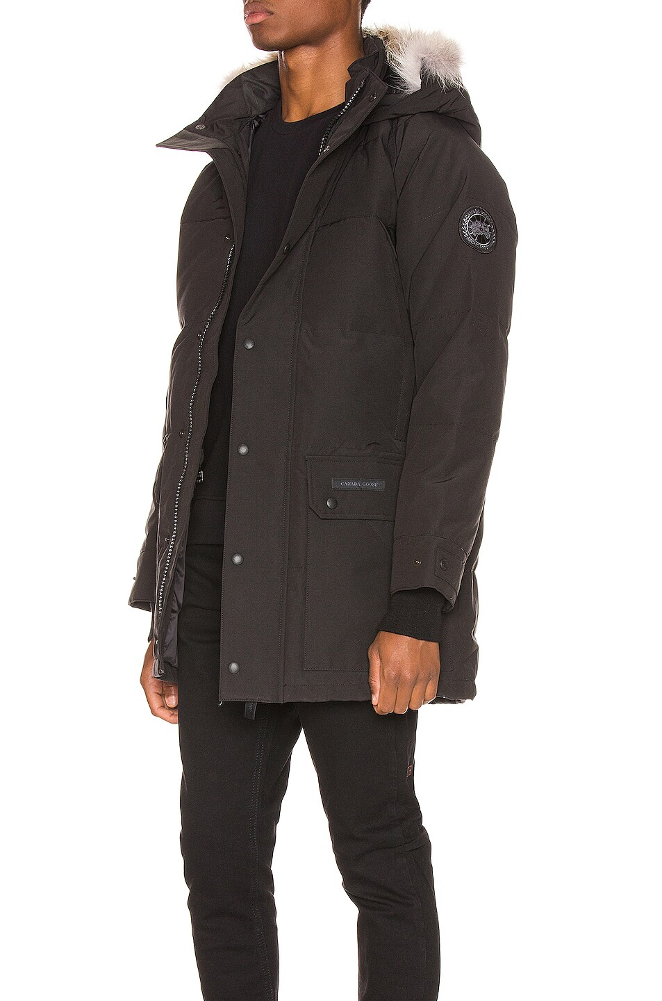 Image 4 of Canada Goose Maitland Parka in Black