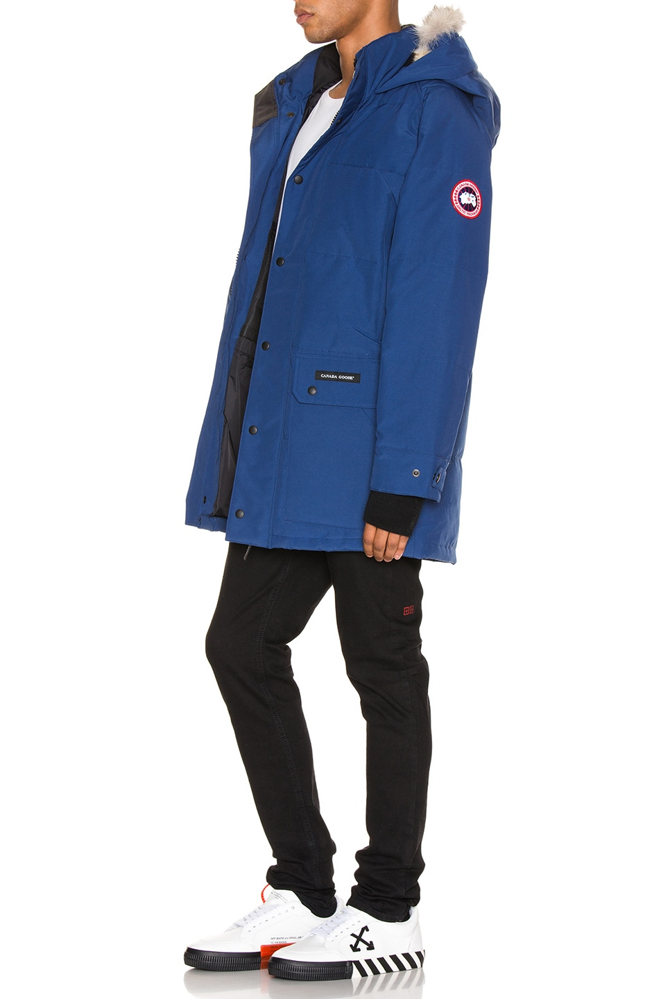 Image 4 of Canada Goose Emory Parka in Northern Night