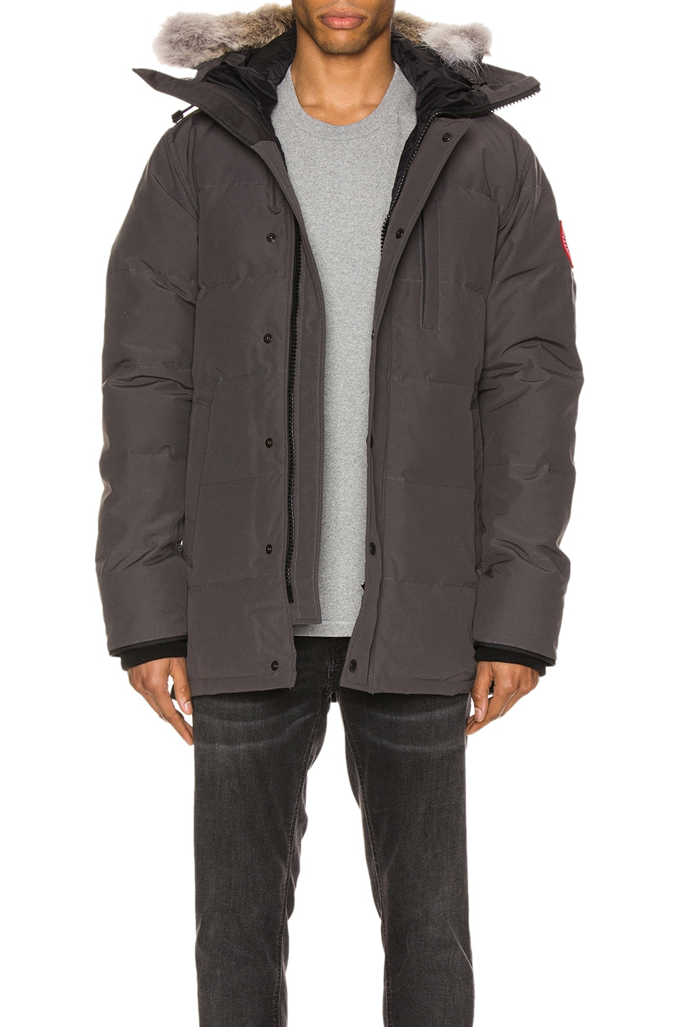 Image 1 of Canada Goose Carson Parka in Graphite