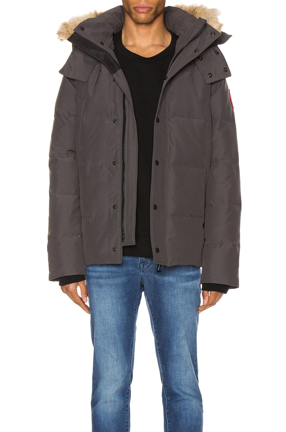 Image 1 of Canada Goose Wyndham Parka in Graphite