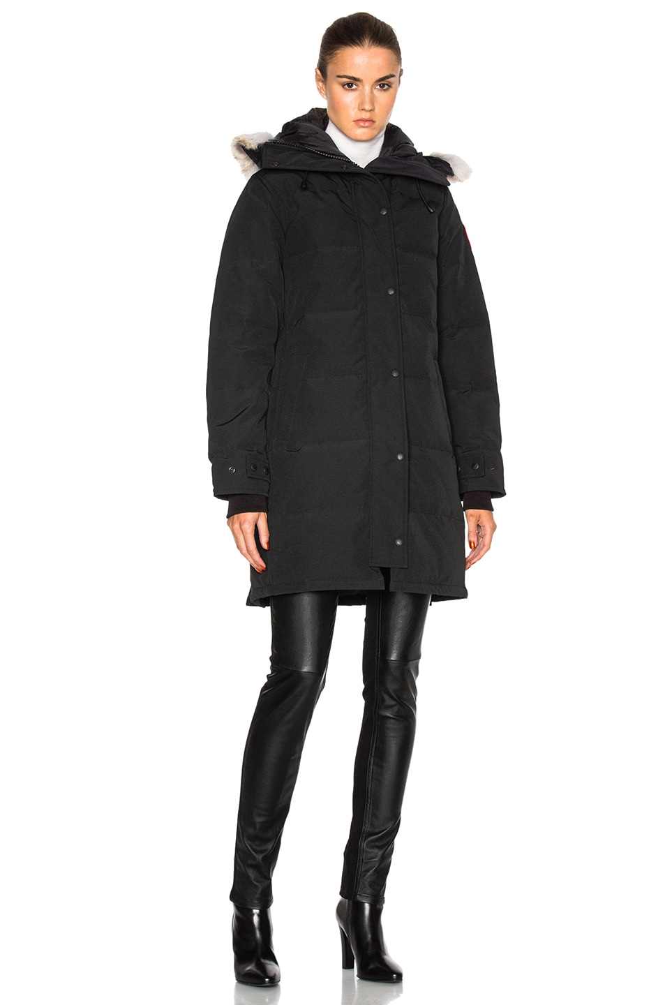 Image 2 of Canada Goose Shelburne Parka in Black